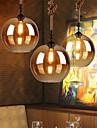 Max 60W Hängande lampor ,  Vintage Elektropläterad Särdrag for Ministil MetallLiving Room / Bedroom / Dining Room / Skaka pennan och