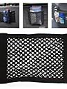 ziqiao universal bilbarnstol tillbaka lagring elastisk mesh nätkasse bagage hållare ficka sticker starka Magic Tape tillbehör