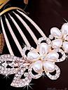Femme Imitation de perle Casque-Mariage / Occasion speciale / Decontracte Peigne / Accessoires pour Cheveux 1 Piece