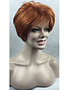 nouvelle cuivre de la mode rouge courte perruque synthetique femmes droite