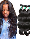 """3 Pcs /Lot 8""""-30""""Malaysian Virgin Hair Body Wave Hair Weft 100% Unprocessed Remy Human Hair Weaves"""