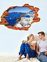 Stilleben / Landskap Wall Stickers Väggstickers i 3D,pvc 60*90cm