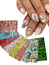 1pcs shell nail stickers-Autre decorations-Doigt / Orteil- enAbstrait-4cm*7cm each piece