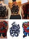 tillfällig tatuering (hela ryggen) - dragon (2st)