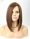 joywigs 12inch bob frisyr människohår peruker för kvinnor brun färg