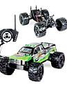 Truggy WLToys L212 1:12 Borstlös elektrisk RC Bil 60KM/H 2.4G Grön / Röd Färdig att köraFjärrkontroll bil / Fjärrkontroll/Sändare /