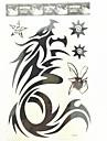 1 st Drogonen vattentät tillfällig tatuering (26.5cm * 19cm)