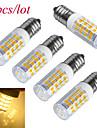 3W E14 LED-lampa T 51 SMD 2835 240-300 lm Varmvit / Kallvit Dekorativ AC 220-240 V 5 st