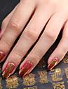 Blomma-Finger / Tå-3D Nagelstickers- avAkryl-1- styck20CM*20CM- cm