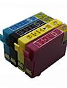bloom®t1631-t1634 cartouche d\'encre compatible pour epson wf-2540wf / wf-2630wf / 2650dwf / 2660dwf pleine encre (4 couleurs 1 jeu)