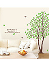 Botaniska Lover träd Decal Mural Removable Wall Stickers