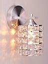 Kristall / Ministil Vägglampetter,Modern/Samtida E26/E27 Metall
