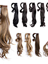 "18"" Wrap Around Straight Synthetic Ponytail Pony Hair Extensions Hair wigs Pieces,1 Piece,63g"