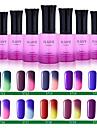 ILuve Nail Polish Temperature Colour Changing Chameleon UV Led Gel For Nail Art Long Lasting Soak Off Varnish #5711-20