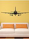 Forme / Transport Stickers muraux Stickers avion,vinyl 100*32CM