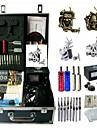 basekey tattoo kit k0194 4 maskin med strömförsörjning grepp rengöringsborste nålar