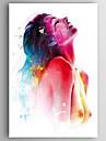 HANDMÅLAD Människor / nakenModerna En panel Kanvas Hang målad oljemålning For Hem-dekoration