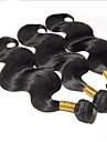 obearbetade 3st / lot peruanska virgin hår förkroppsligar vinkar 100% människohår buntar peruanska förkroppsligar vinkar