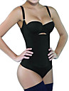 Shaperdiva Women\'s Latex Tummy Control Body Shapewear Slimming Bodysuit