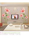 Romance / Mode / Floral Stickers muraux Stickers avion,pvc 60*90cm