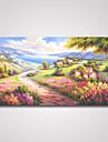Toiles Tendues A fleurs/Botanique Realisme / Pastoral / Modern,Un Panneau Toile Horizontale Imprimer Art Decoration murale For Decoration