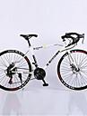 Väg Cykel Cykelsport 21 Hastighet 26 tum/700CC Unisex Vuxen Herr Kvinnors SHIMANO TX30 Dubbel skivbroms Springergaffel Hardtail-ram Vanlig