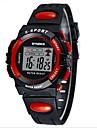 SYNOKE Copii Ceas Sport Ceas de Mână Ceas digital Piloane de Menținut Carnea LCD Calendar Cronograf Rezistent la Apă alarmă Luminos PU