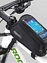ROSWHEEL® Cykelväska 1.5LVäska till cykelramen Vattentät dragkedja Fuktighetsskyddad Stötsäker Bärbar Cykelväska PVC Nät Terylen