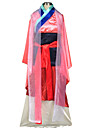 Cosplay Costumes Princess / Fairytale Movie Cosplay Red Patchwork Skirt / Apron / Corset / Belt / Kimono CoatHalloween / Christmas / New
