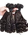 """3st / lot 8 """"-24"""" brasilianska jungfru hår naturligt svart Funmi hår obearbetade jungfru mänskliga hårförlängningar härva gratis"""