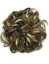 peruk täppt cyan 6 cm hög temperatur tråd hår cirkel färg 6026p