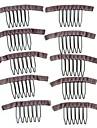 peruk göra tillbehör, peruk kammar stil klipp för peruk cap, svart färg, grossistpriser 50st / lot