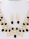 Dame Seturi de bijuterii Colier / cercei Bijuterii Statement European Personalizat La modă Piatră Preţioasă Opal Coliere Σκουλαρίκια
