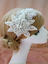 Dame Sateng Headpiece-Bryllup / Spesiell Leilighet Pannebaand 1 Deler