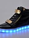 Bărbați Confortabili Pantofi Usori Piele Originală Primăvară Vară Toamnă Iarnă De Atletism Casual Dantelă Toc Plat Alb Negru Rosu Albastru