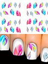 2 Autocollant d\'art de clou Bijoux pour ongles Adorable Maquillage cosmetique Nail Art Design