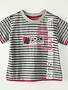 T-shirt Pojke Sommar Randig Polyester
