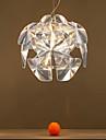 40W Traditionell/Klassisk Ministil Rektangulär Plast Hängande lamporLiving Room / Bedroom / Dining Room / Sovrum / Matsalsrum /