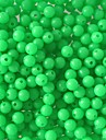 """100 pcs Kits de leurre Vert 100pc g/1/18 Once,5mm mm/<1"""" pouce,Plastique dur / Acier inoxydable/ferPeche en mer / Peche a la mouche /"""