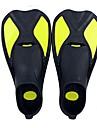 Dykning Fenor Skyddande Korta simfenor Dykning och snorkling Simning Silikon Röd Gul Blå