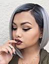 naturlig kort rakt flera färger populär syntetisk peruk för kvinna