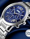 SKMEI® Men's Classic Stopwatch Watch 3 Sub Dials Japanese Quartz Stainless Steel Cool Watch Unique Watch
