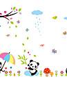 Animaux Botanique Bande dessinee Romance Nature morte Mode Floral Vacances Paysage Forme Fantaisie Stickers muraux Autocollants avion