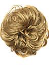 peruk gyllene 6cm hög temperatur tråd hår cirkel färg 1011