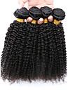 Tissages de cheveux humains Cheveux Bresiliens Tres Frise 12 mois 4 Pieces tissages de cheveux