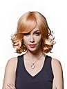 kvinnans populära fluffiga vågiga jungfruligt remy människohår hand bunden -top emmor peruker