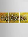 canvas Set Landskap Europeisk Stil,Tre paneler Kanvas Fyrkantig Print Art väggdekor