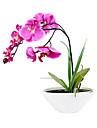 Gren Silke Plast Orkidéer Bordsblomma Konstgjorda blommor #(29*25*15 cm(11.4*9.8*5.9 in))
