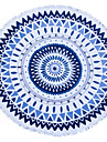 Drap de plage Bleu Haute qualite 100% Coton Serviette