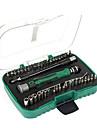 berrylion® 44 uppsättningar av bärbara multifunktionella skruvmejsel som kombination